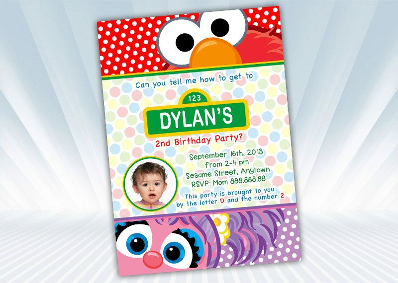 Elmo+and+Abby+Invite+by+DigiPartyShoppe+on+Etsy,+$8.00