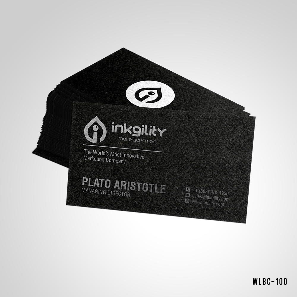 8 best Pure Charcoal Colored Business Cards images on Pinterest ...
