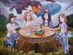 """""""Ridin' The Zeppelin"""" by davidmacdowell.deviantART.com     Artist - David MacDowell"""