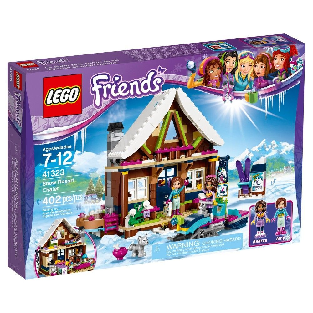 Lego Friends Snow Resort Chalet 41323 Products Lego Friends Sets