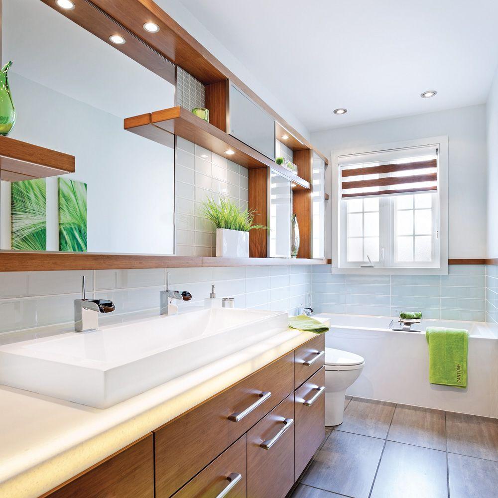 Deco Salle De Bain Avant Apres salle de bain tout en longueur | salle de bains en longueur
