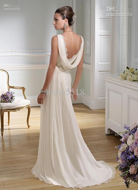 Greek Roman Inspired Dress