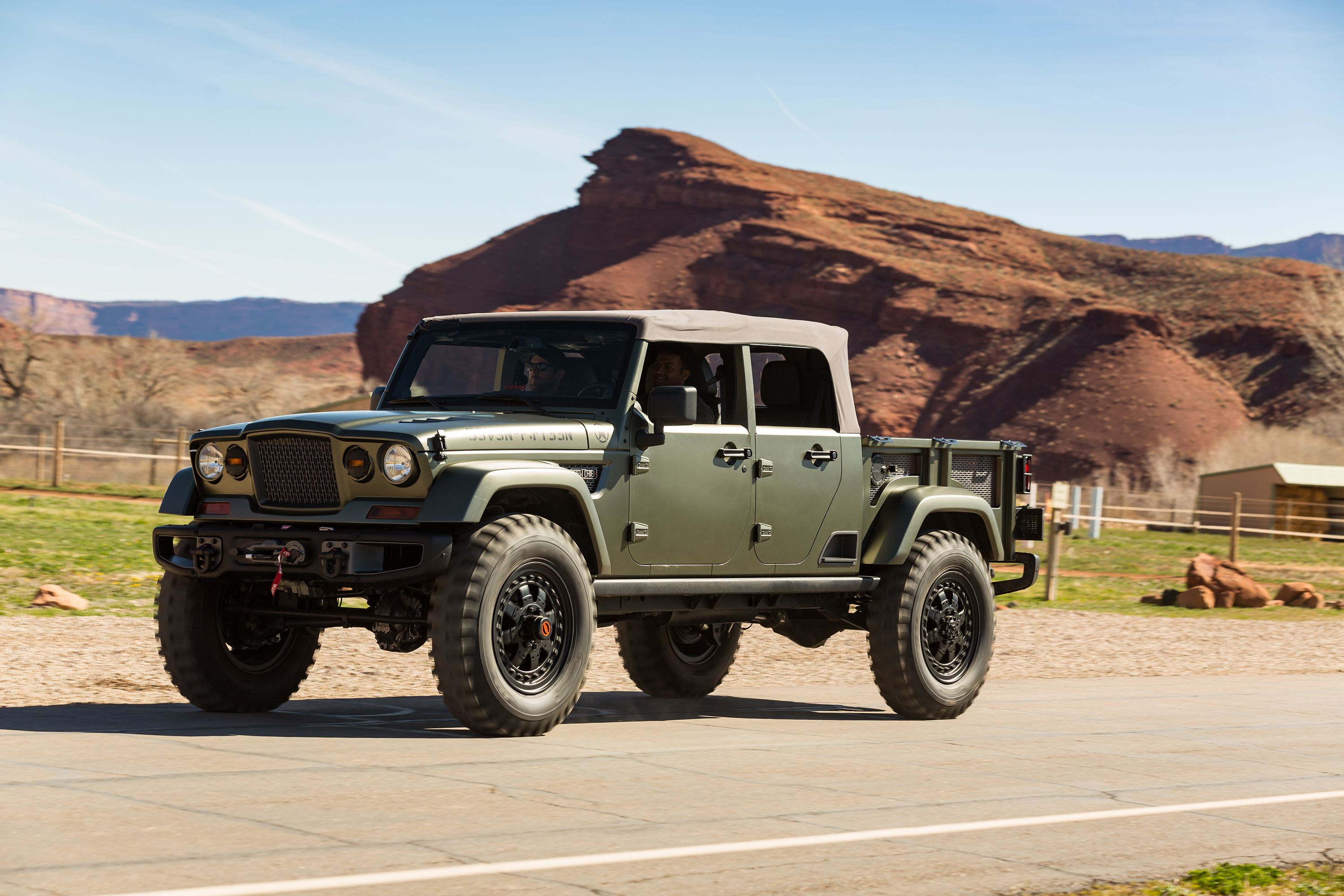 jeep crew chief 715 concept jk 39 off road car pinterest jeep offroad and cars. Black Bedroom Furniture Sets. Home Design Ideas