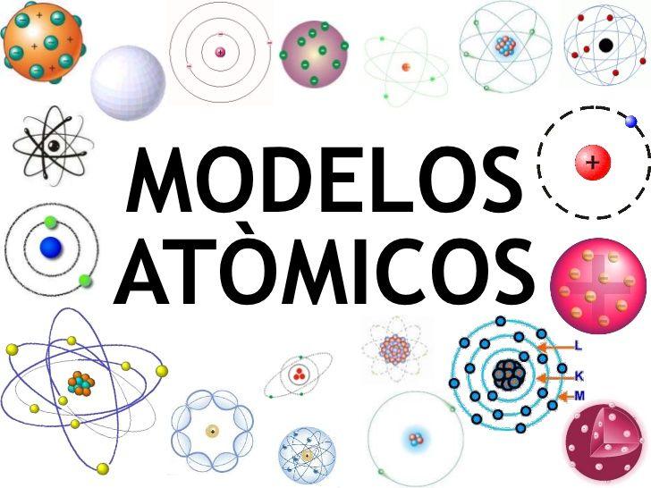 Modelos Atomicos Modelo Atomico Quimica Modelos Atomicos Y