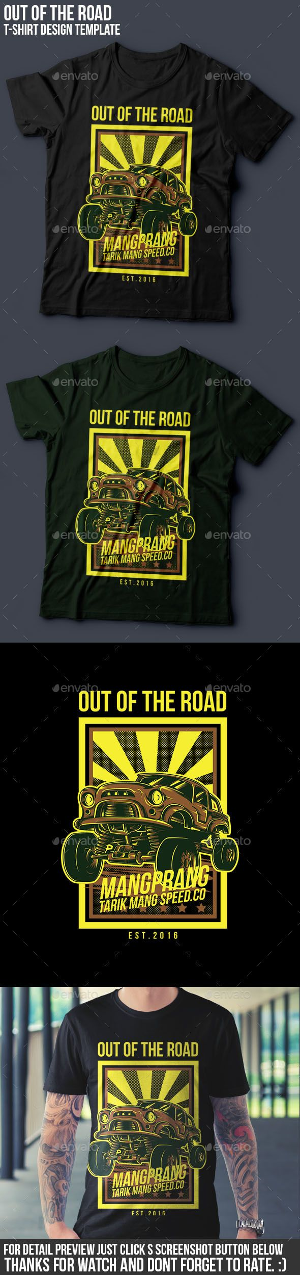 Shirt design resolution - Out Of The Road T Shirt Design Events T Shirts