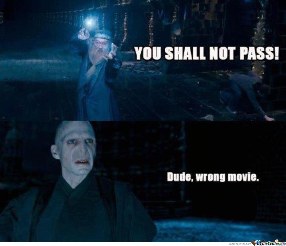 Dude Wrong Movie Harry Potter Jokes Harry Potter Memes Hilarious Harry Potter Memes