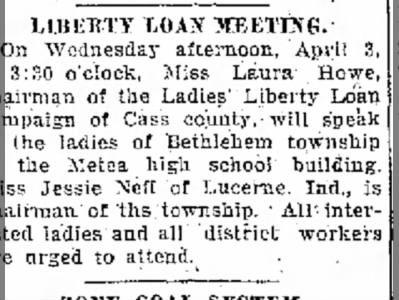 LIBERTY LOAN MEETING GR JESSE 1 APR 1918