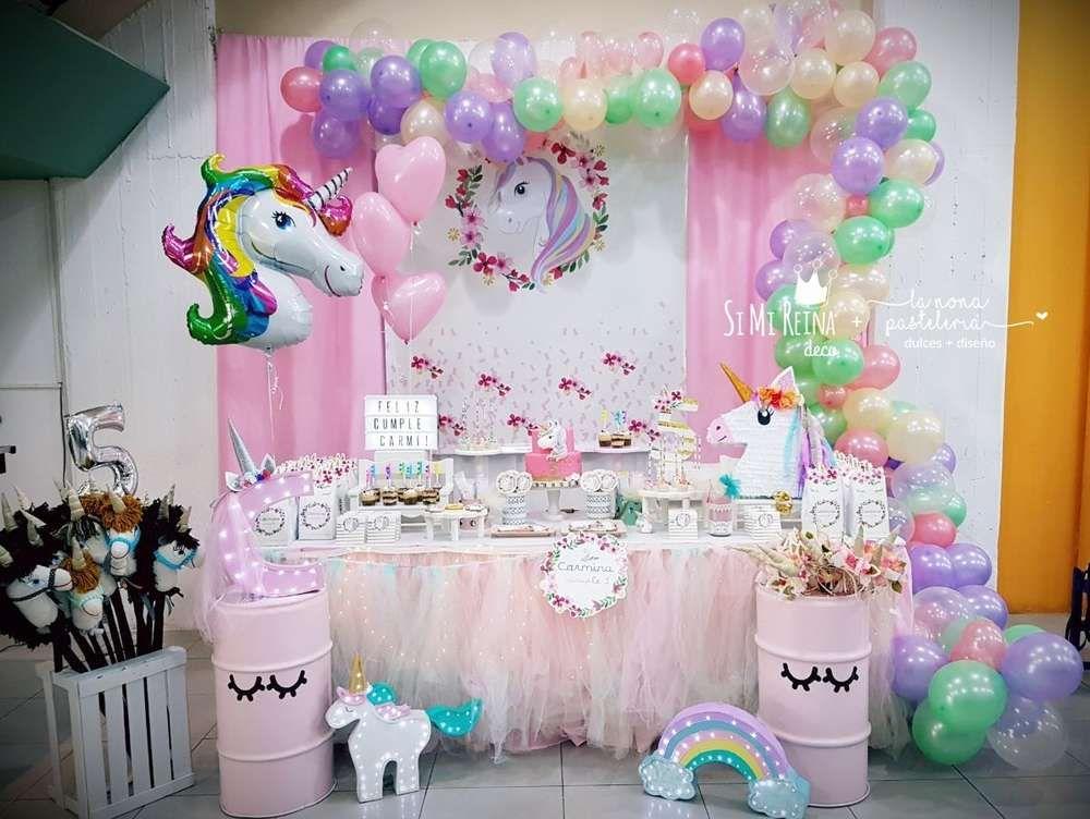 Unicorns birthday party ideas unic rnio unic rnios e for Decoracion 15 anos unicornio