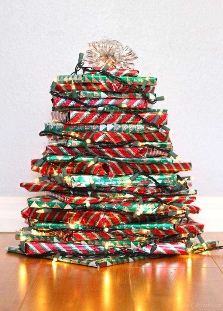 Easy Christmas Book Tree Diy Crafts Christmas Books Hallmark