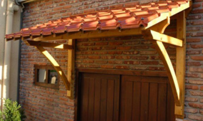 C mo instalar un tejadillo tejados madera y buscar con for Tejados de madera con teja