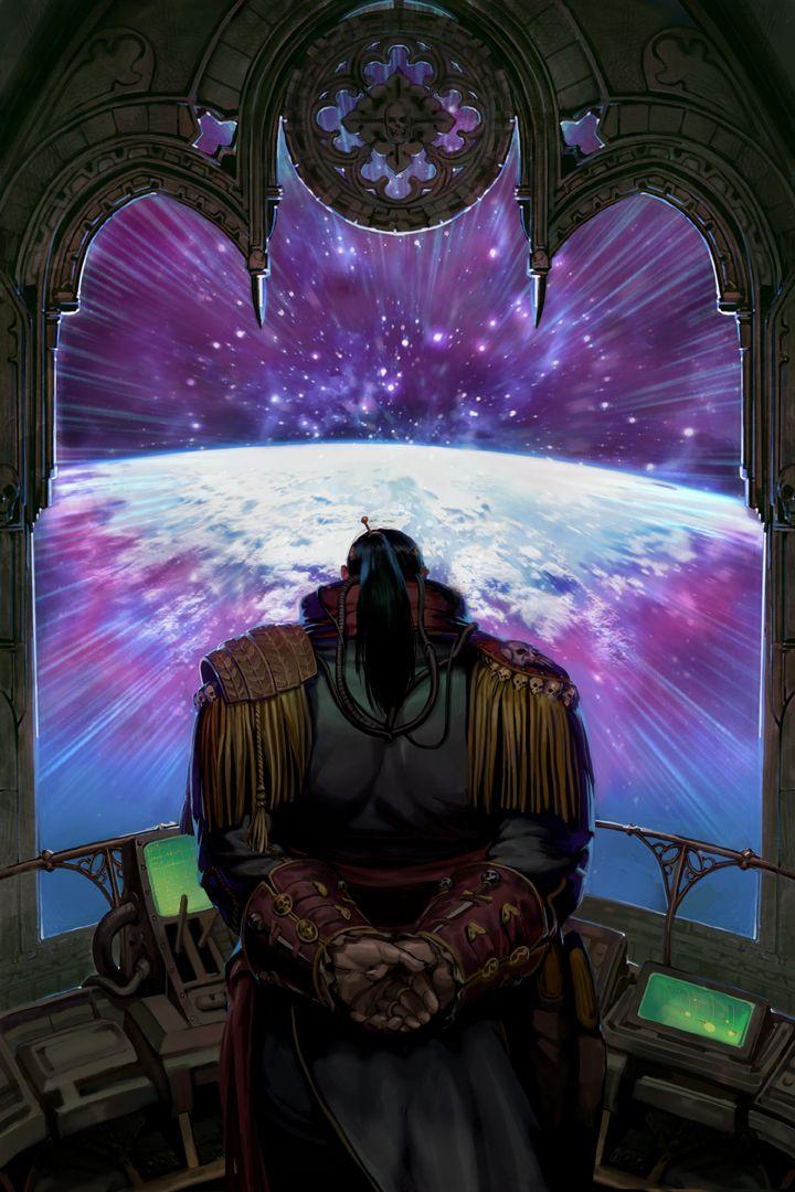 Frontpiece - Cruiser - Startravel - Planet Overview - Dark Heresy - Warhammer