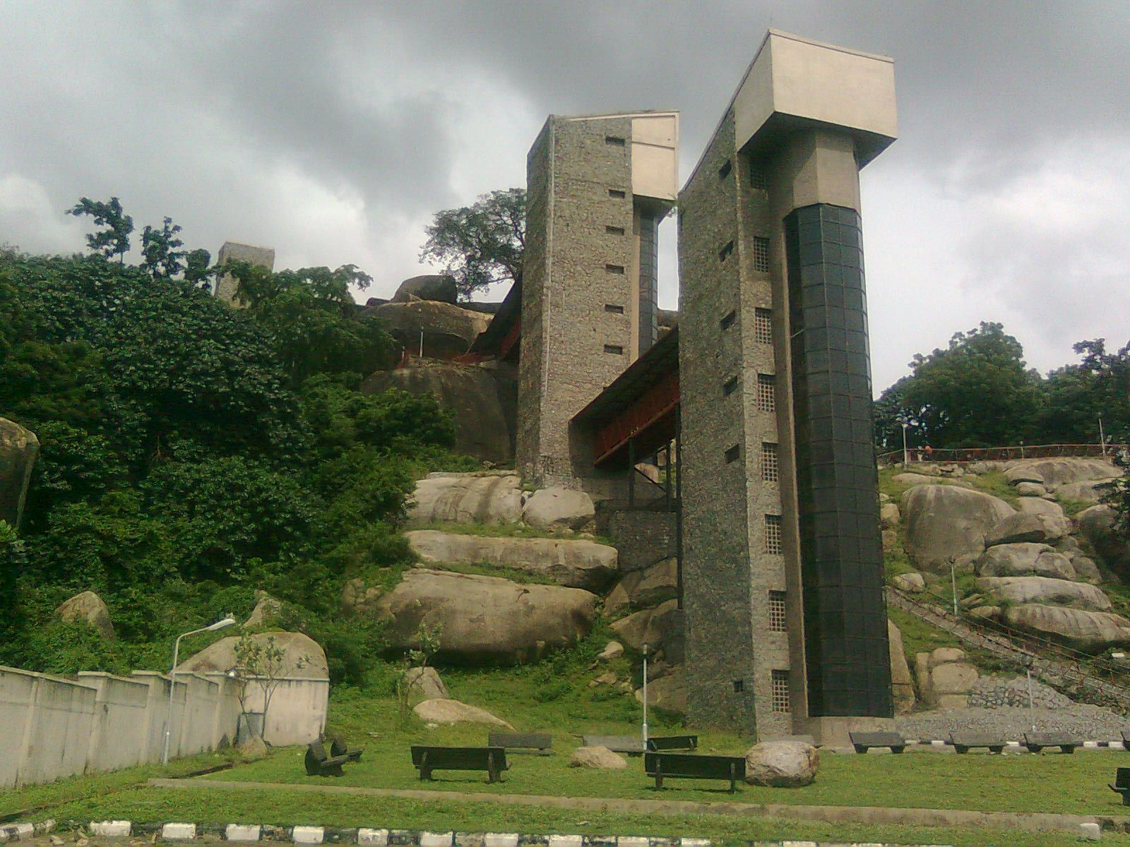 The Famous Olumo Rock At The Heart Of Abeokuta In Ogun State Nigeria