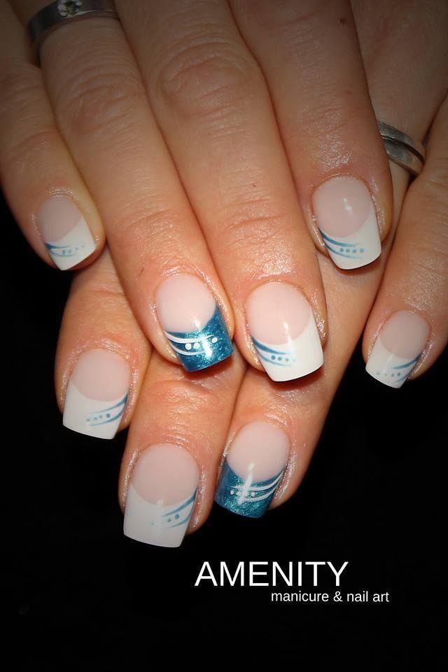 Bildergebnis für nailart french | Nails | Pinterest | French nails ...