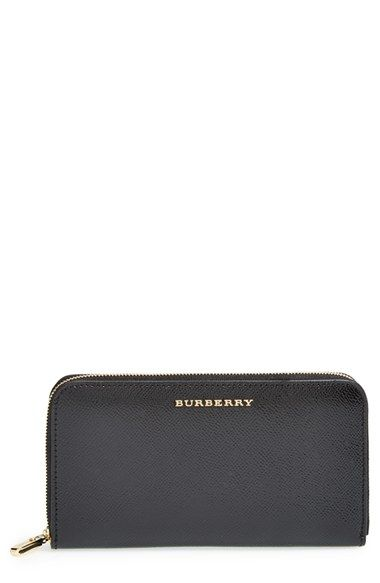 6b38b105f65 Burberry  Elmore - London Leather  Zip Around Wallet available at  Nordstrom