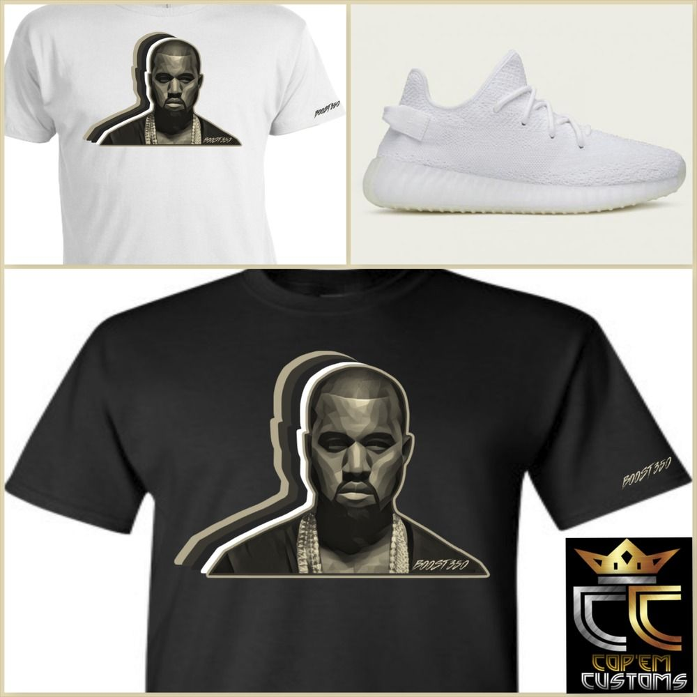 0c7981748fa3b2 EXCLUSIVE TEE T-SHIRT to match ADIDAS YEEZY BOOST 350 V2 CREAM WHITE ANY  COLOR!  COPEMCUSTOMS  GraphicTee