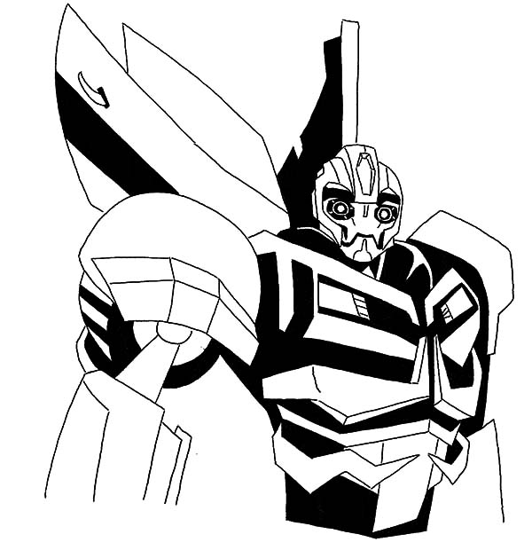 Transformer Robot Bumblebee Car Coloring Pages Best Place To Color In 2020 Transformers Coloring Pages Cars Coloring Pages Bee Coloring Pages