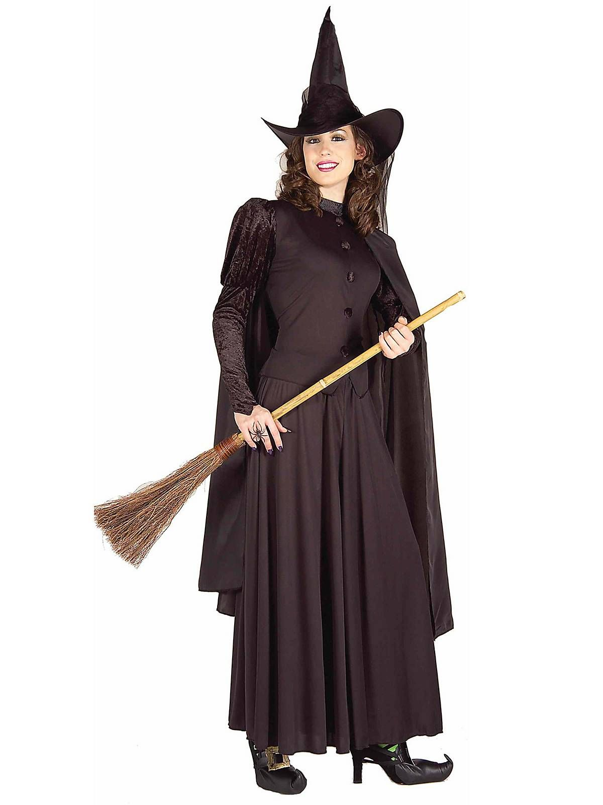 classic witch adult costume - Classic Womens Halloween Costumes