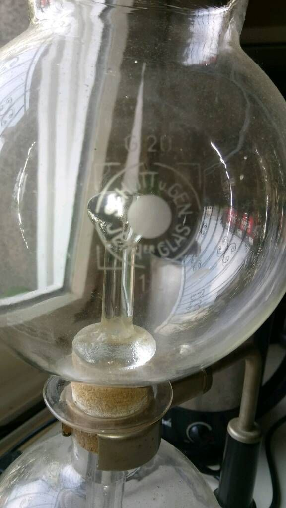 Kaffeeaufbereiter Schott U Gen Jena Glas