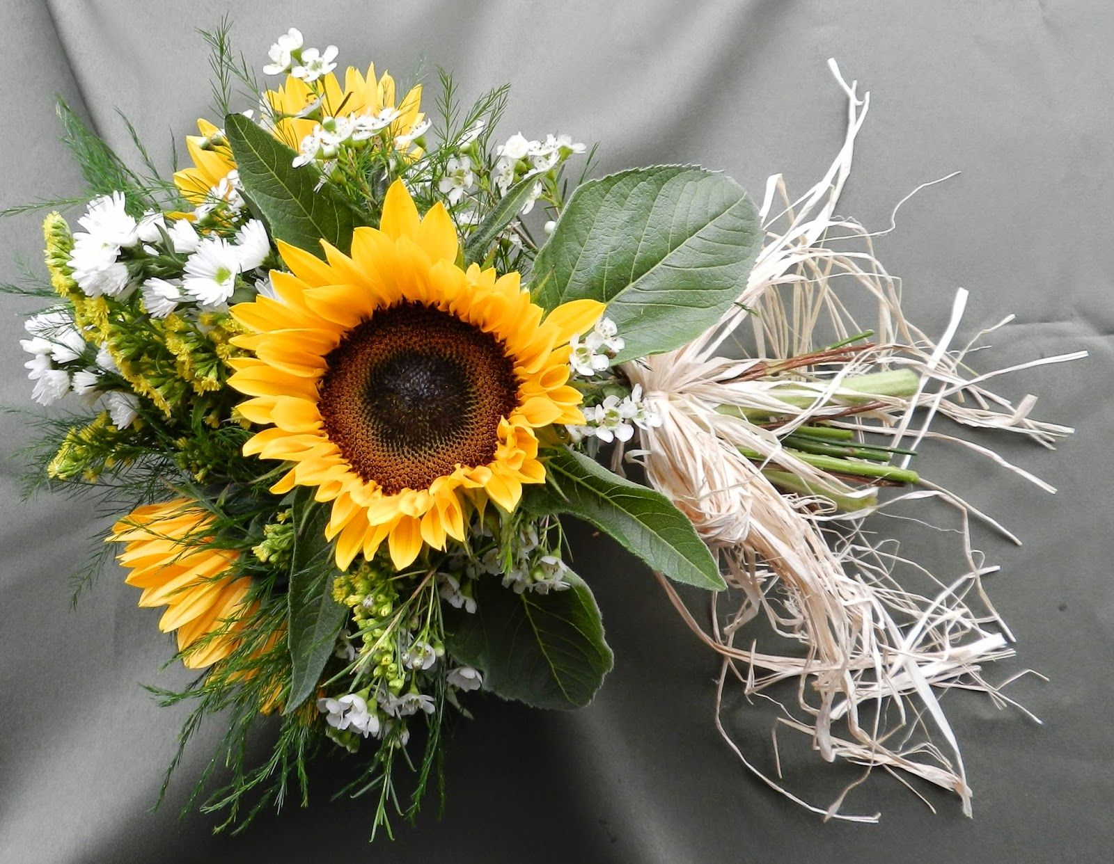 sunflowers and dafodils daises pastel.flowers wedding bouquet - Google Search