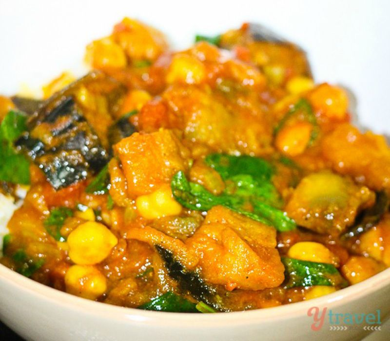 Eggplant And Chickpea Curry Recipe Indian Food Recipes Recipes