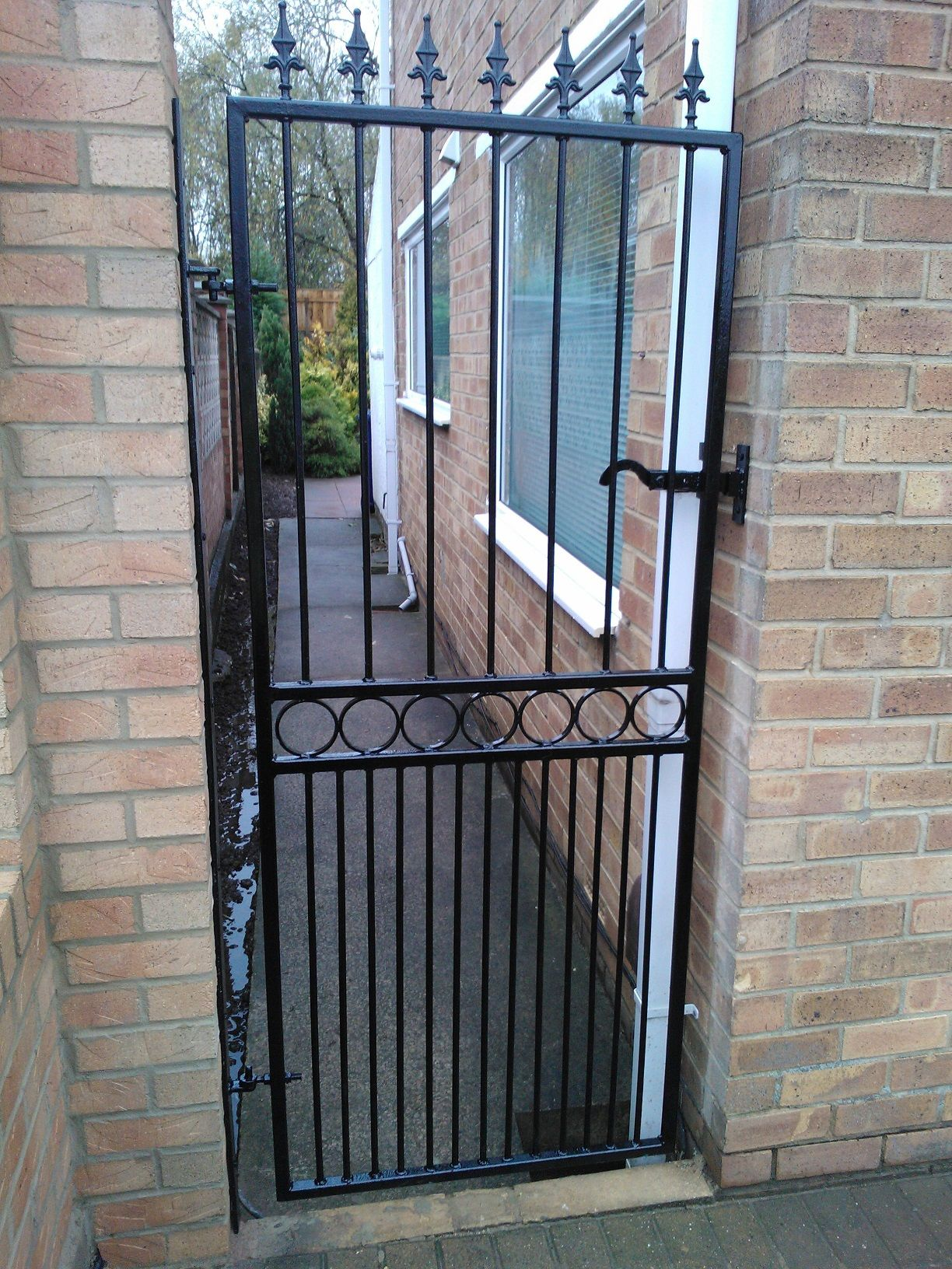 Wrought Iron Single Gates Google Search Fer Forj 233