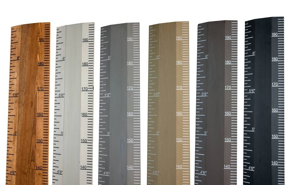 Modern Country Style: My Real Ruler Height Chart! Click ...
