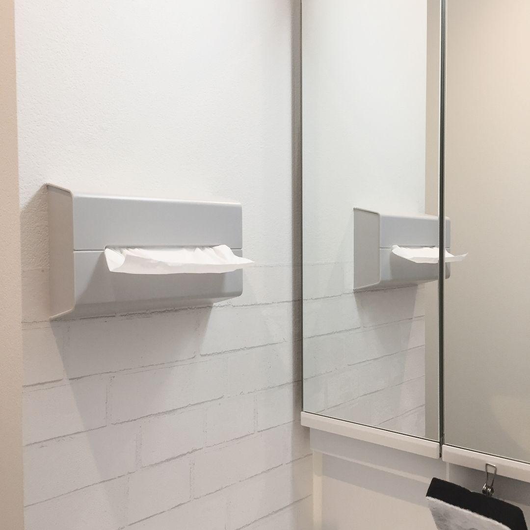 生活感ゼロ おしゃれルームに見せる ティッシュケース 16選 洗面