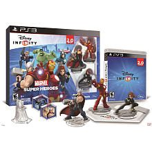 Disney Infinity Marvel Super Heroes 2 0 Edition Starter Pack For Sony Ps3 Disney Infinity Disney Interactive Marvel Superheroes