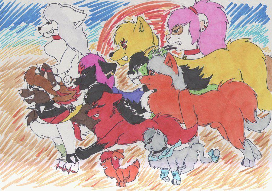 :.My Pack.: by PrinceUseless.deviantart.com on @deviantART
