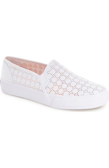 3dd1ccc50 Keds® 'Double Decker' Perforated Slip-On Sneaker (Women) available at  #Nordstrom
