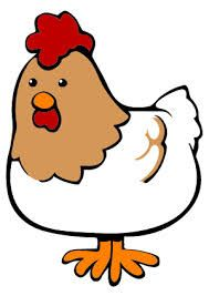 Resultado de imagen de gallina dibujo animado