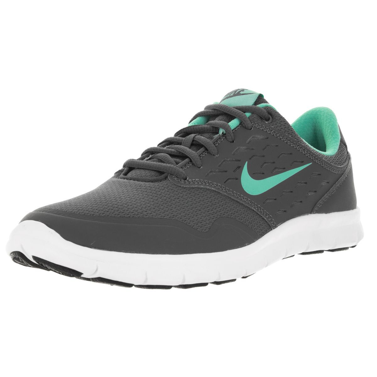 Hit the road running with these grey sneakers from Nike . These lightweight  soles feature a