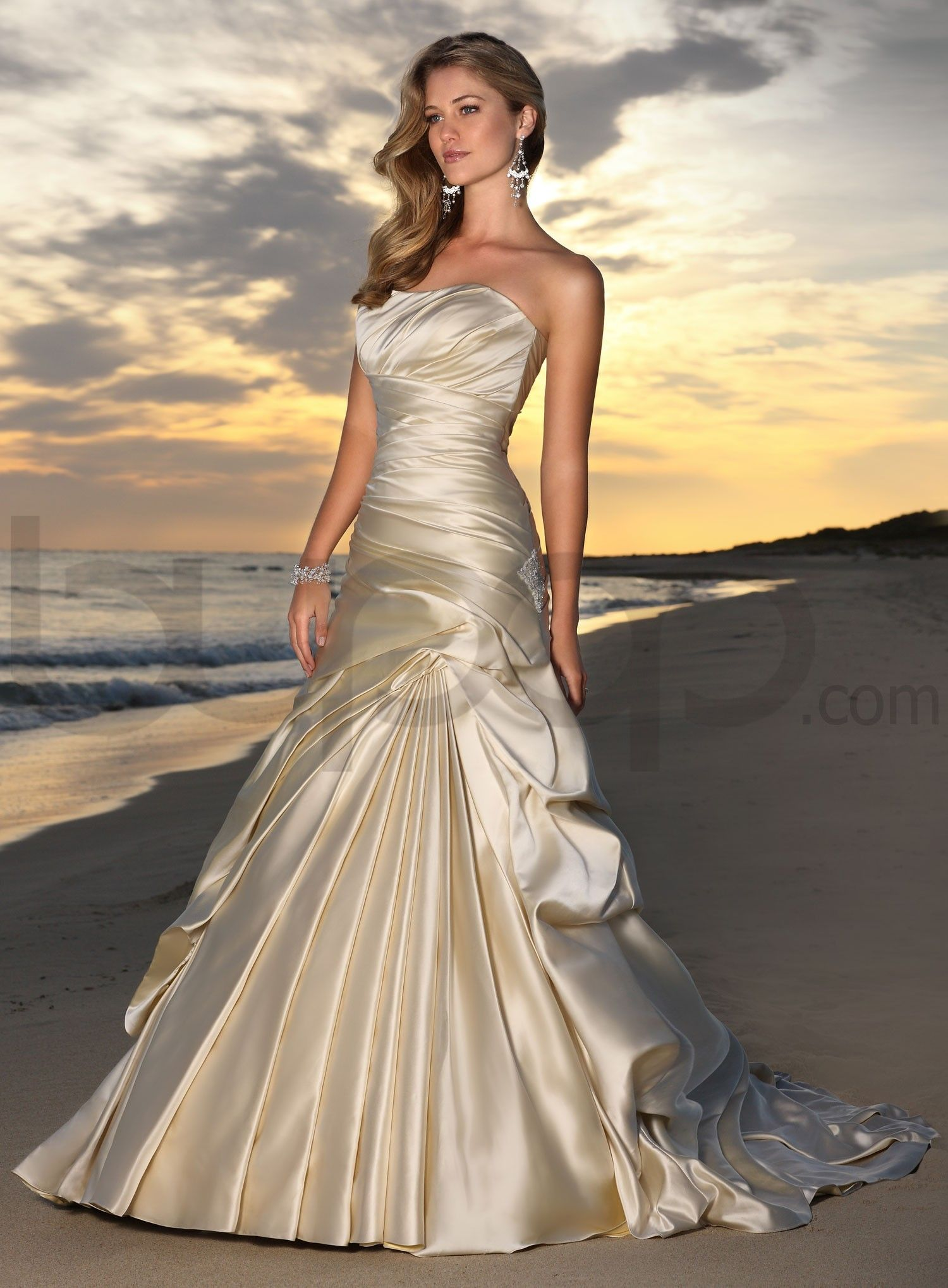 Ugly wedding dresses wedding dresses are ugly satin ball gown trumpetmermaid sweetheart satin sweep train champagne ruffles wedding dresses at msdressy ombrellifo Image collections