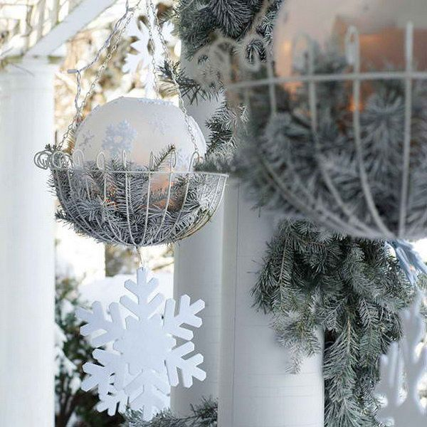 25 Most Beautiful Outdoor Decoration Ideas for Christmas DIY