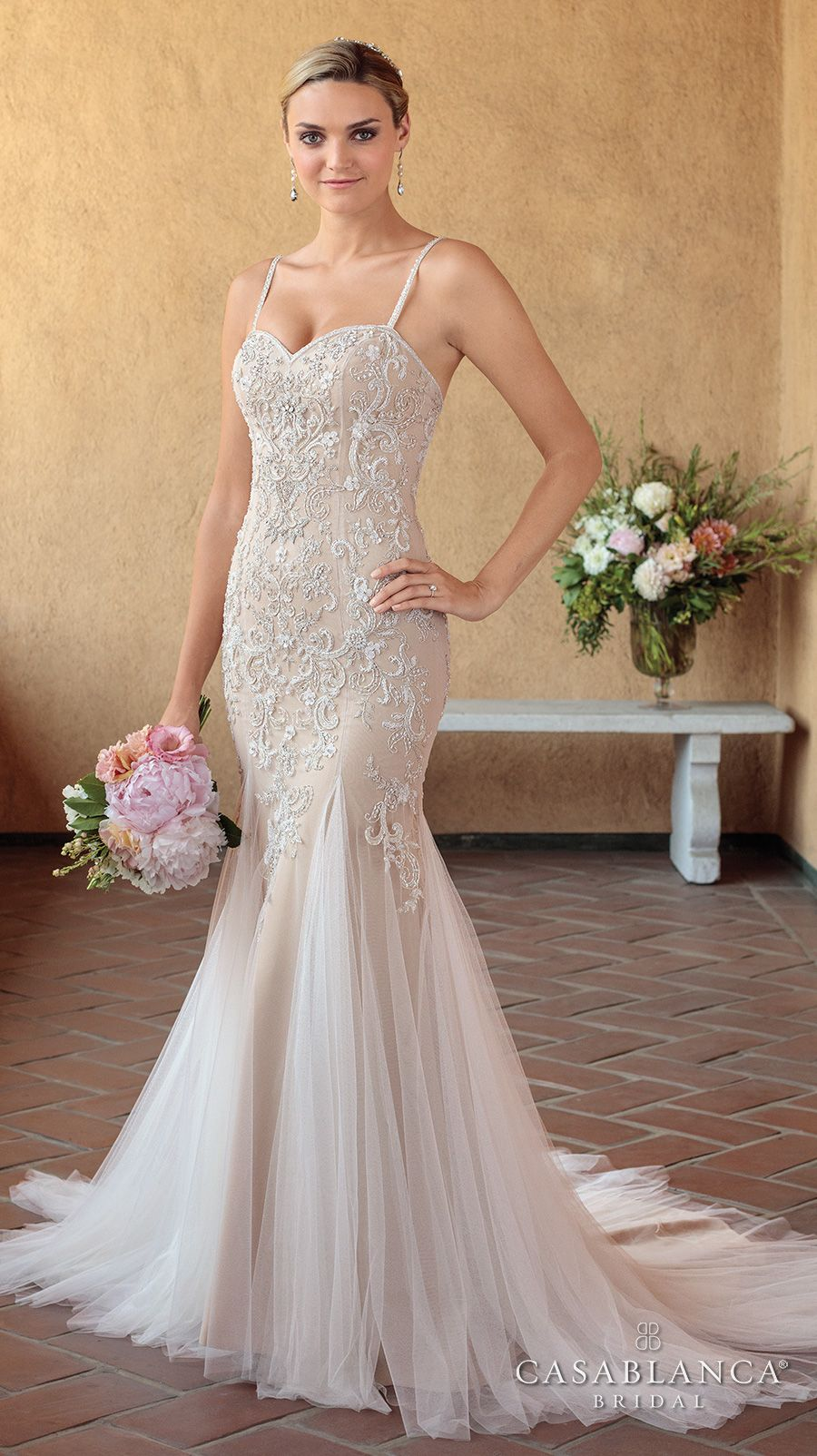 The spring casablanca bridal collection is all kinds of