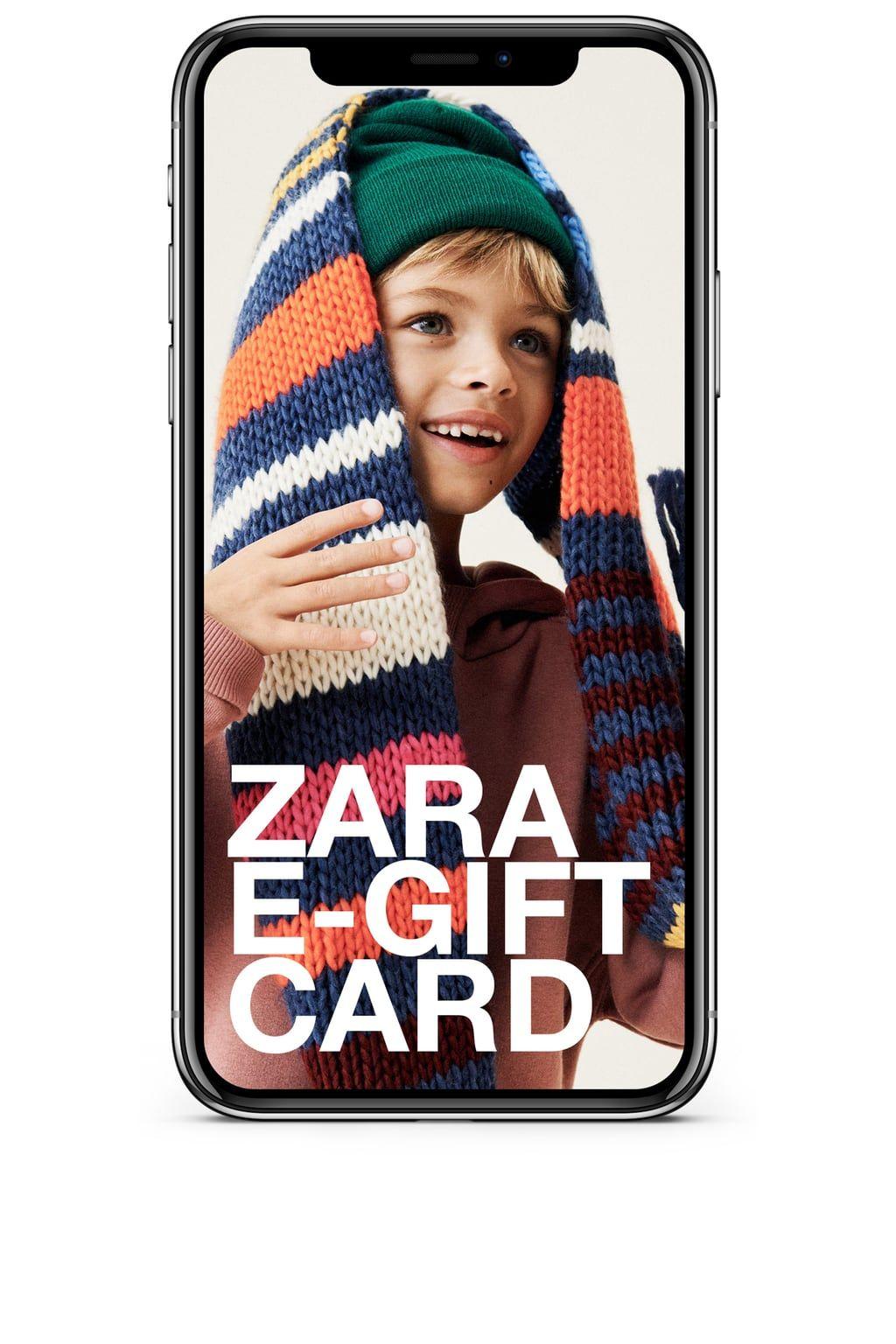 Egift card cards gifts zara