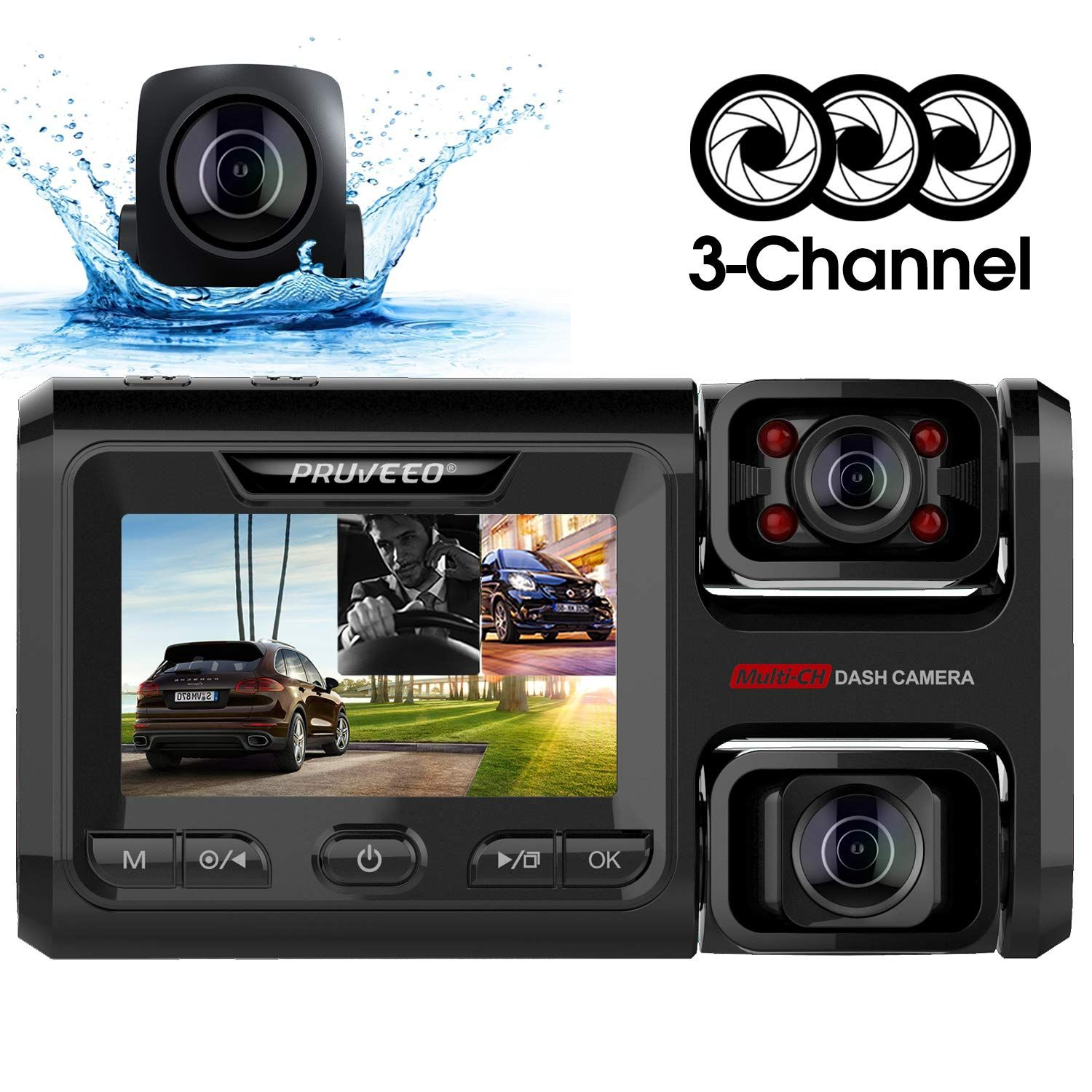 Acquire Early Reviews Pruveeo D40 Three And Dual Channel Dash Cam