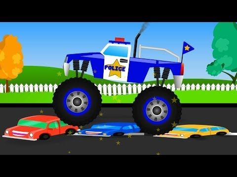 Monster Truck Youtube Truck Videos For Kids Monster Trucks Stunt Video