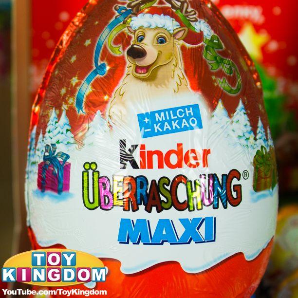 kinder maxi christmas edition egg kinder