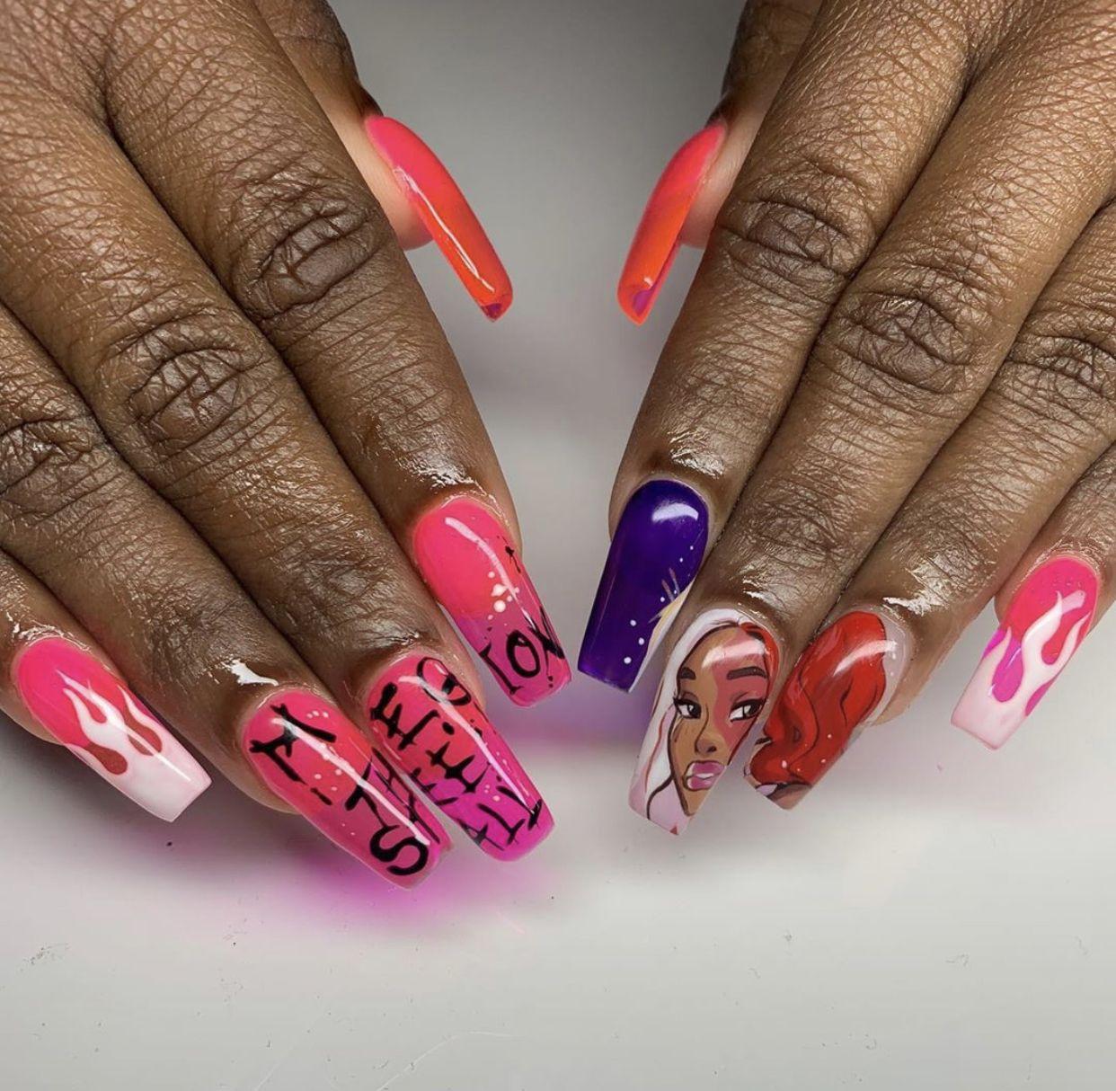 jasgotbars nails how to do nails acrylic nails nails how to do nails acrylic nails