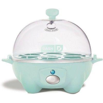 Storebound DEC005AQ Dash Rapid Egg Cooker, Aqua  NEW