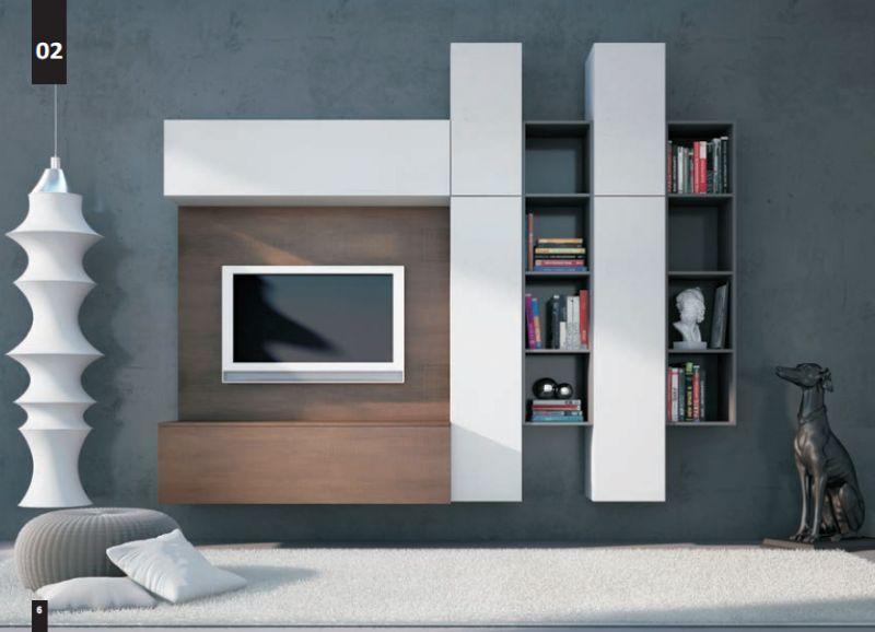 Composizioni Soggiorno Design ~ Kico living composizione n. 2 moderno soggiorno il soggiorno