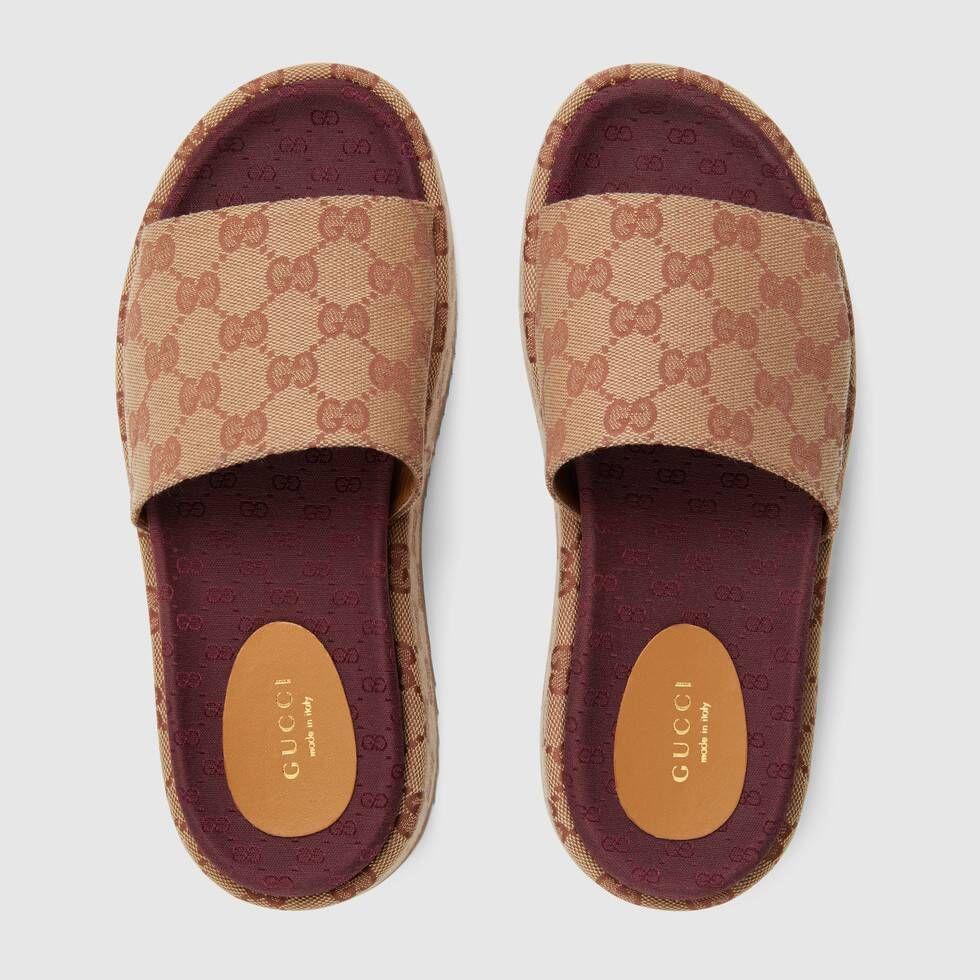Gucci Women's Original GG slide sandal