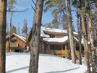 Breckenridge Cabin Rental: U0027the Wicker Creelu0027 Cabin, 3br, 2ba Log Home