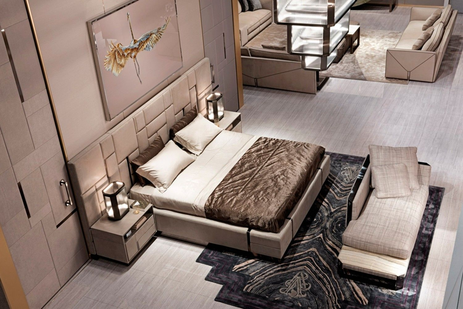 Transform your bedroom into a high end, glamorous boudoir