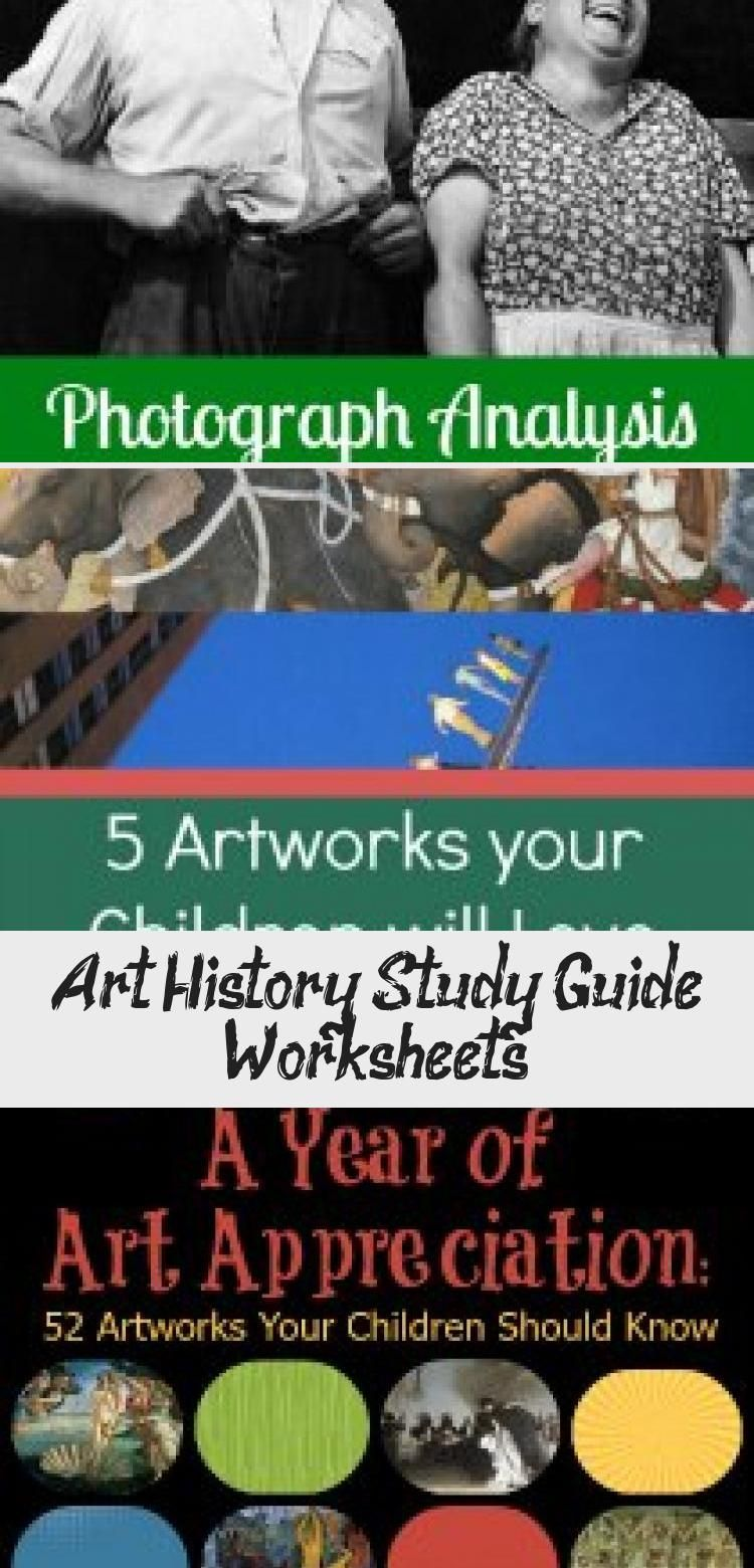 Photo of Art History Study Guide Worksheets – Pinokyo