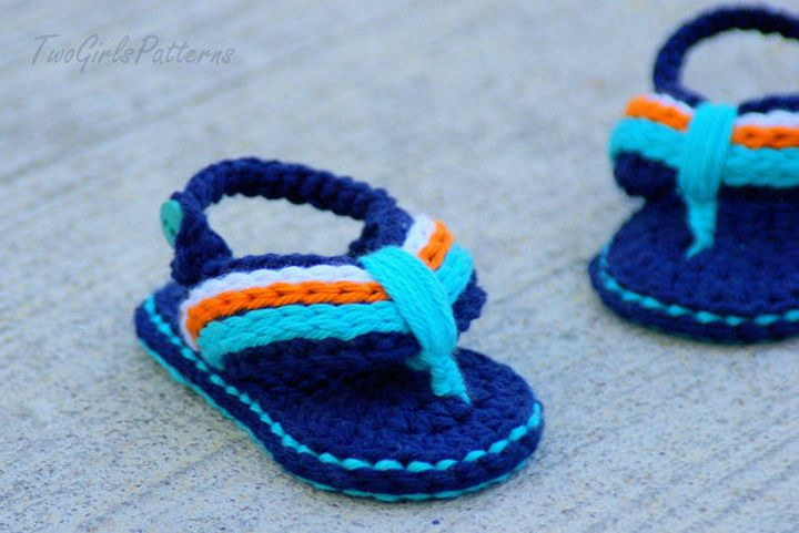 Babies Will Love These Cute Handmade Baby Sandals and Baby Flip ...