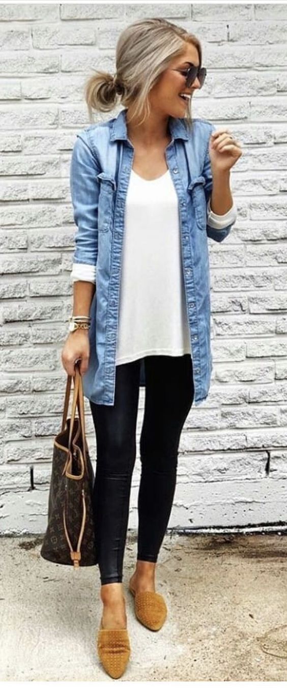 43 TRENDING SPRING WOMEN OUTFITS IDEAS 2019 #easyoutfits 43 Trending Spring Wome…