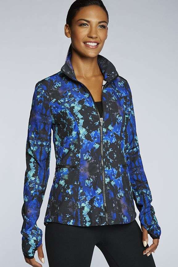 Ninety Six Windbreaker Fabletics Activewear Fashion