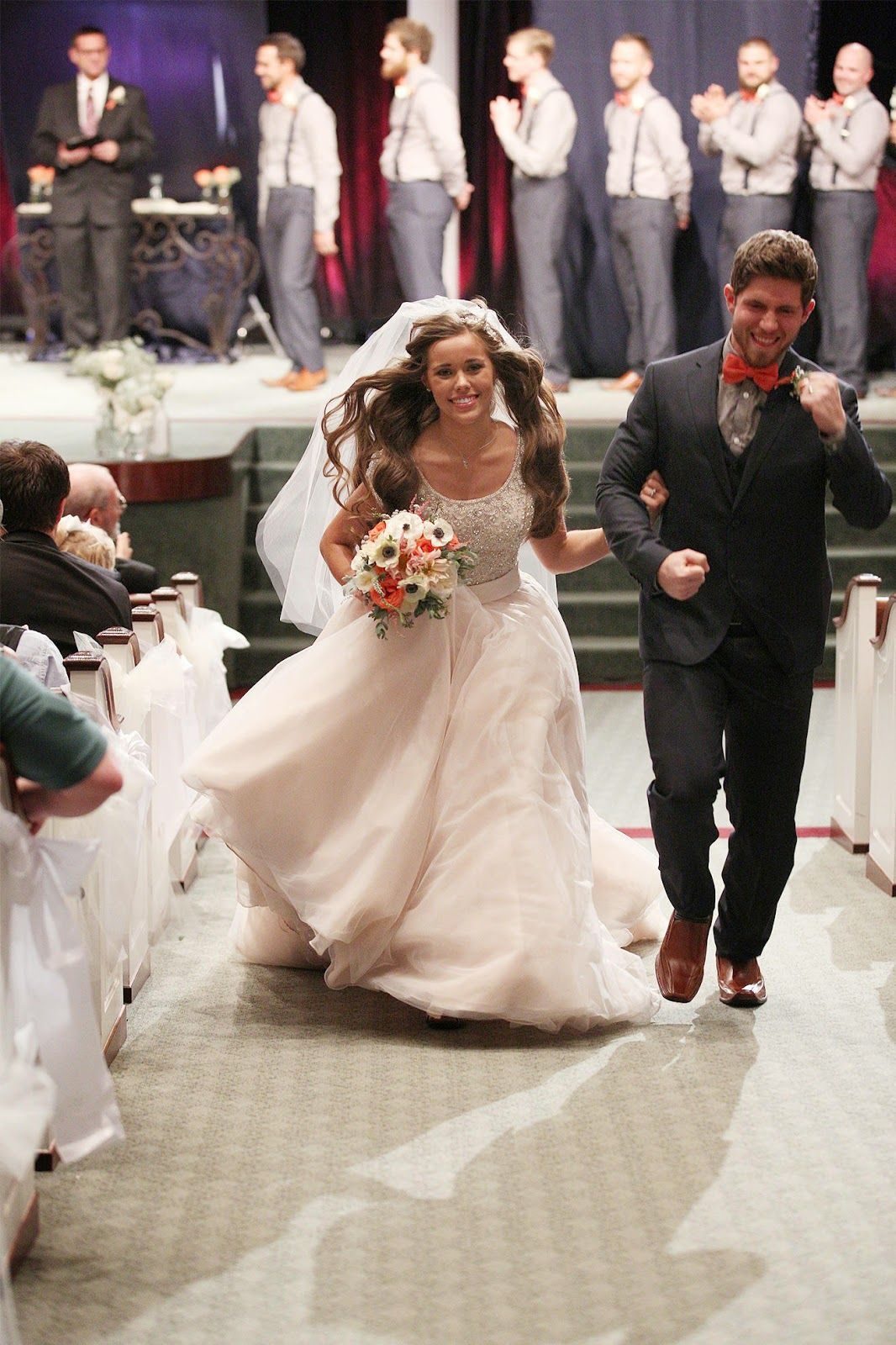 Jessa duggar 39 s wedding photos marriage pinterest 19 kids for Jessa duggar wedding dress
